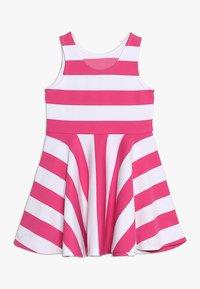 Polo Ralph Lauren - PONTE DRESS - Vestito estivo - ultra pink/white - 1