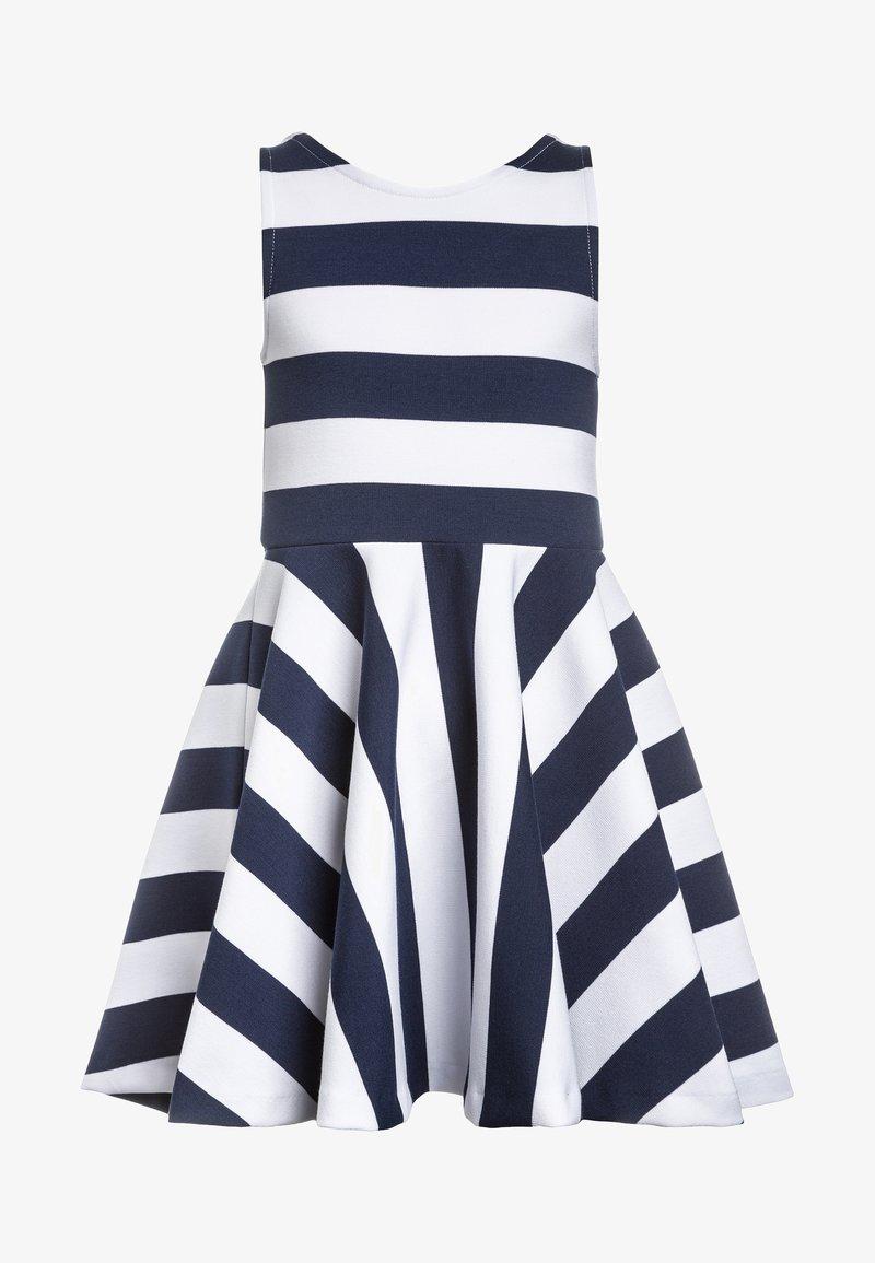 Polo Ralph Lauren - PONTE DRESS - Freizeitkleid - newport navy/white