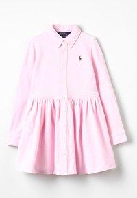 Polo Ralph Lauren - OXFORD DRESS - Robe d'été - carmel pink/white - 0