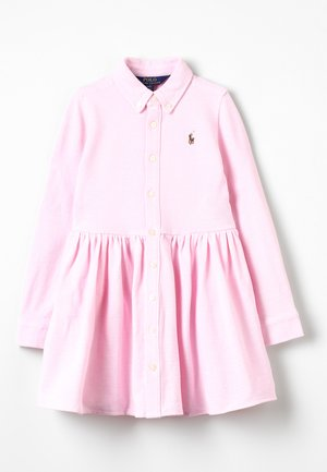 OXFORD DRESS - Denní šaty - carmel pink/white