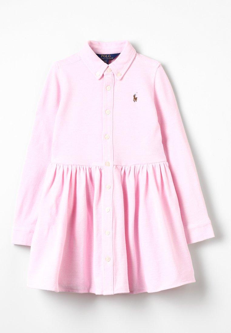 Polo Ralph Lauren - OXFORD DRESS - Robe d'été - carmel pink/white