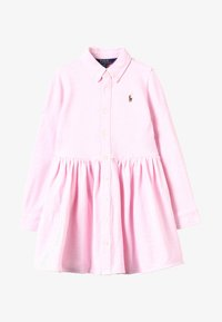 Polo Ralph Lauren - OXFORD DRESS - Vardagsklänning - carmel pink/white