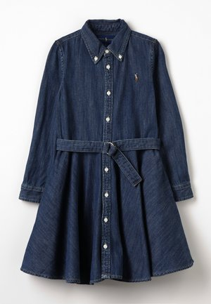 DENIM - Denim dress - indigo