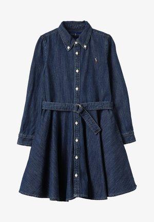 DENIM - Robe en jean - indigo