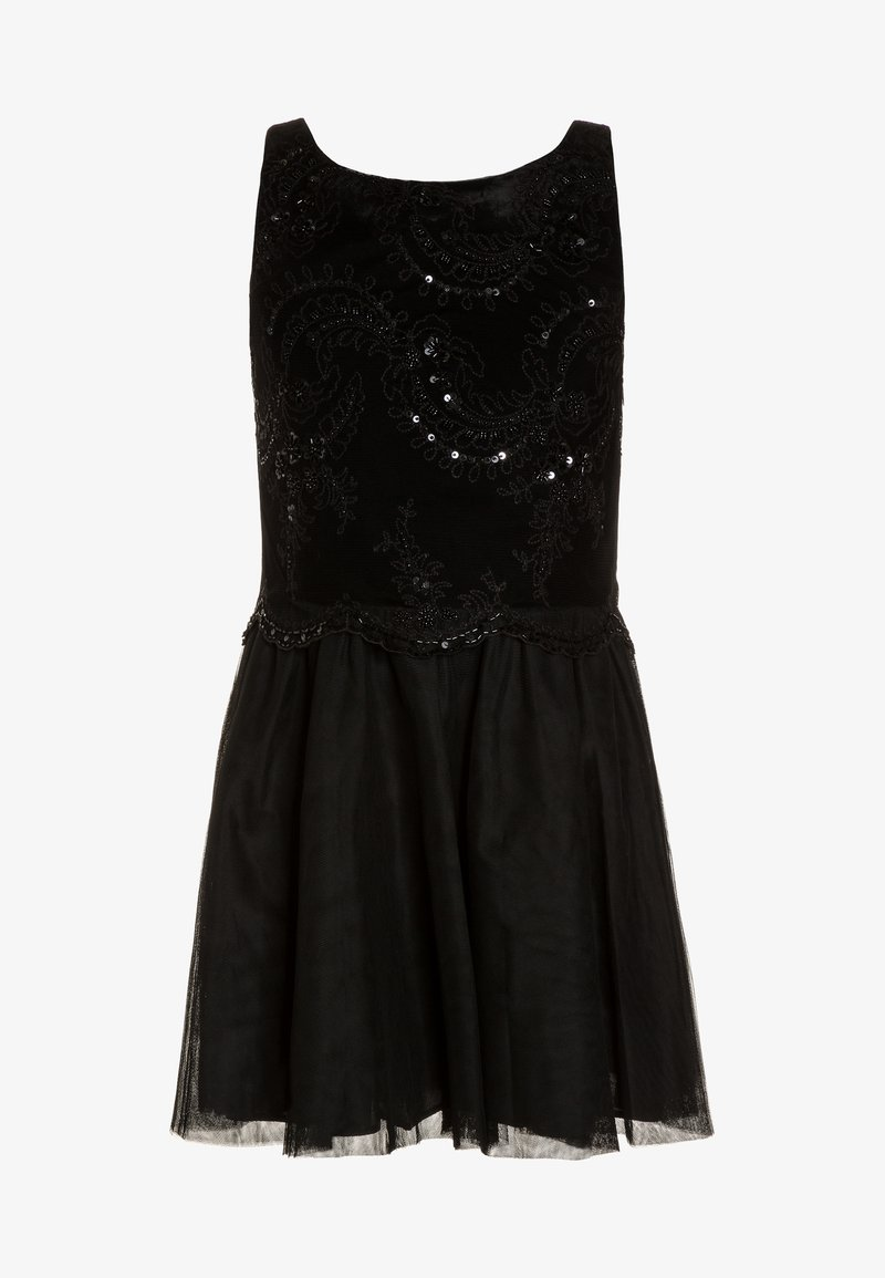 Polo Ralph Lauren - BEADED - Cocktailjurk - black