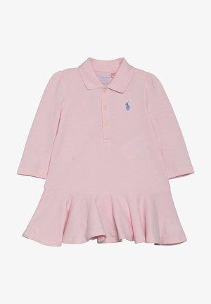 POLO DRESS BABY SET - Kjole - hint of pink