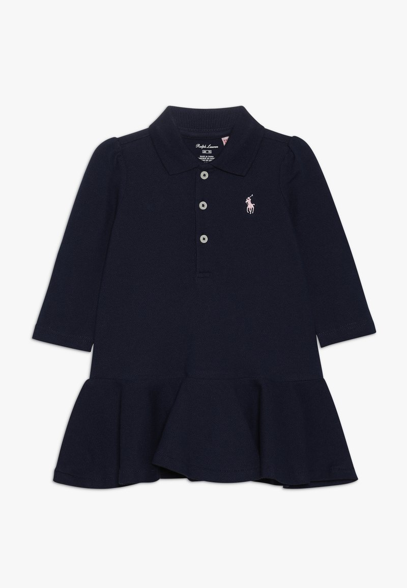 Polo Ralph Lauren - POLO DRESS BABY SET - Hverdagskjoler - french navy