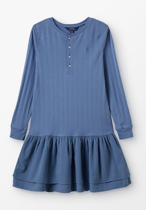 DRESSES - Robe en jersey - carson blue
