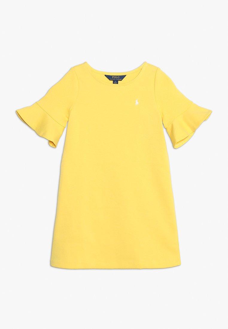 Polo Ralph Lauren - SOLID  - Jersey dress - signal yellow