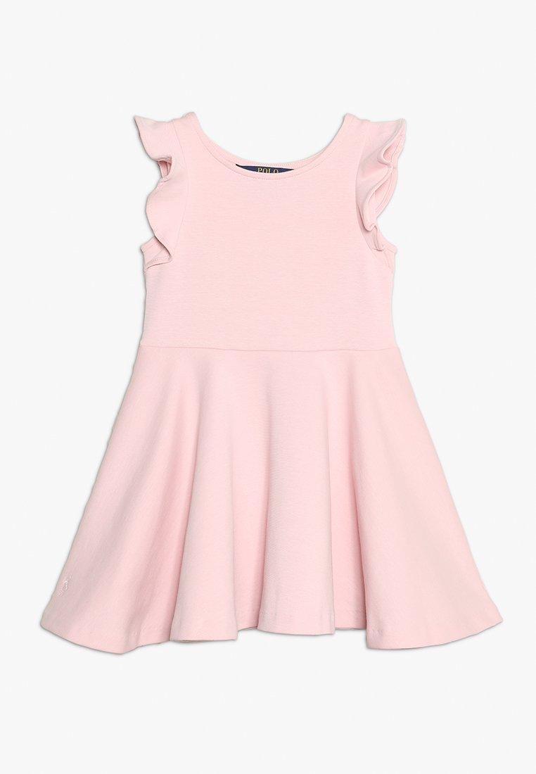 Polo Ralph Lauren - RUFFLE DRESS - Vestido ligero - hint of pink