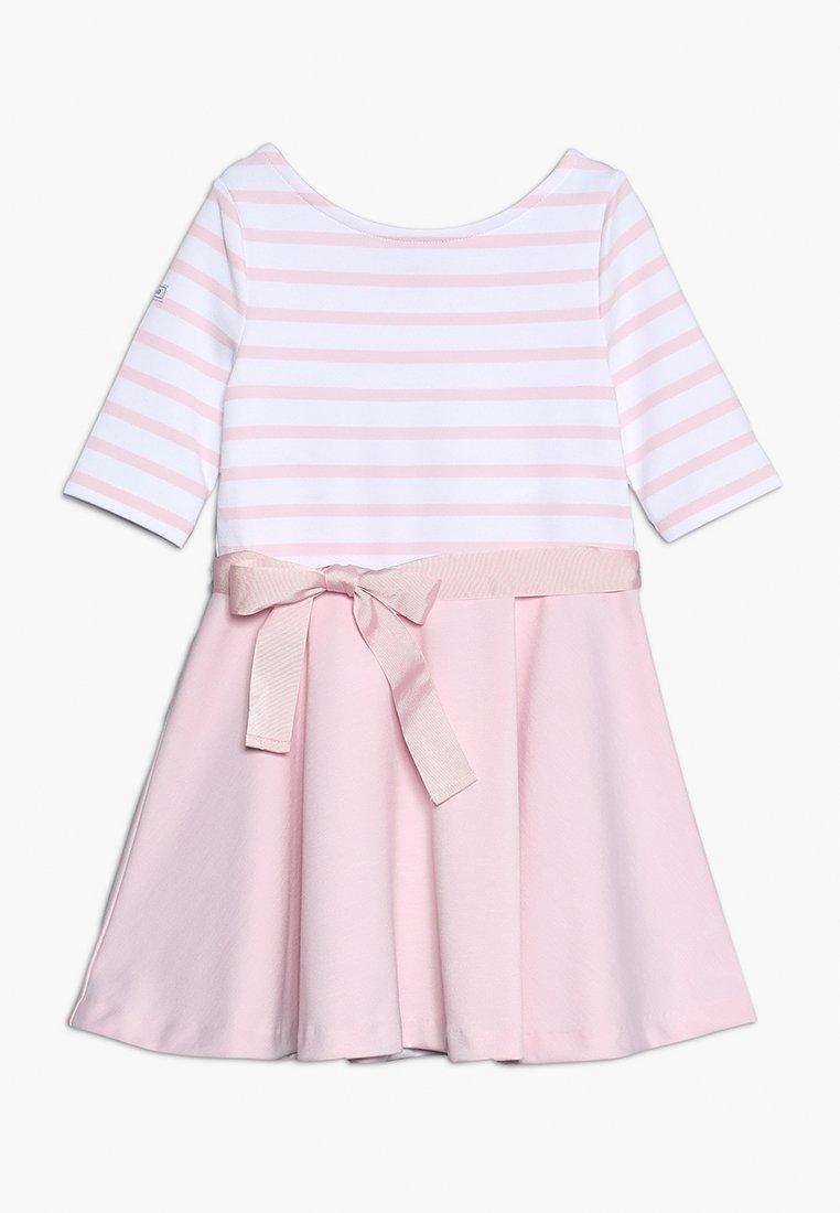 Polo Ralph Lauren - PONTE STRIPE - Žerzejové šaty - hint of pink/white