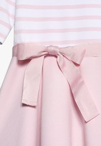 Polo Ralph Lauren - PONTE STRIPE - Žerzejové šaty - hint of pink/white - 5