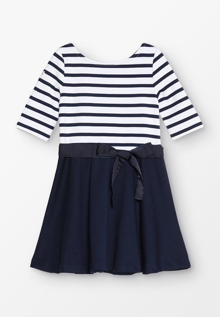 Polo Ralph Lauren - PONTE STRIPE - Jersey dress - french navy/white