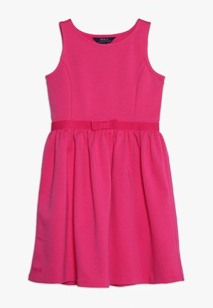 LIGHT WEIGHT - Jersey dress - ultra pink
