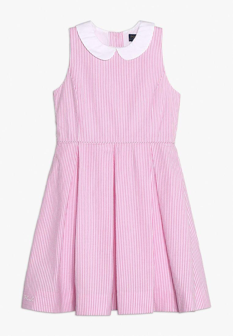 Polo Ralph Lauren - Robe d'été - baja pink/white
