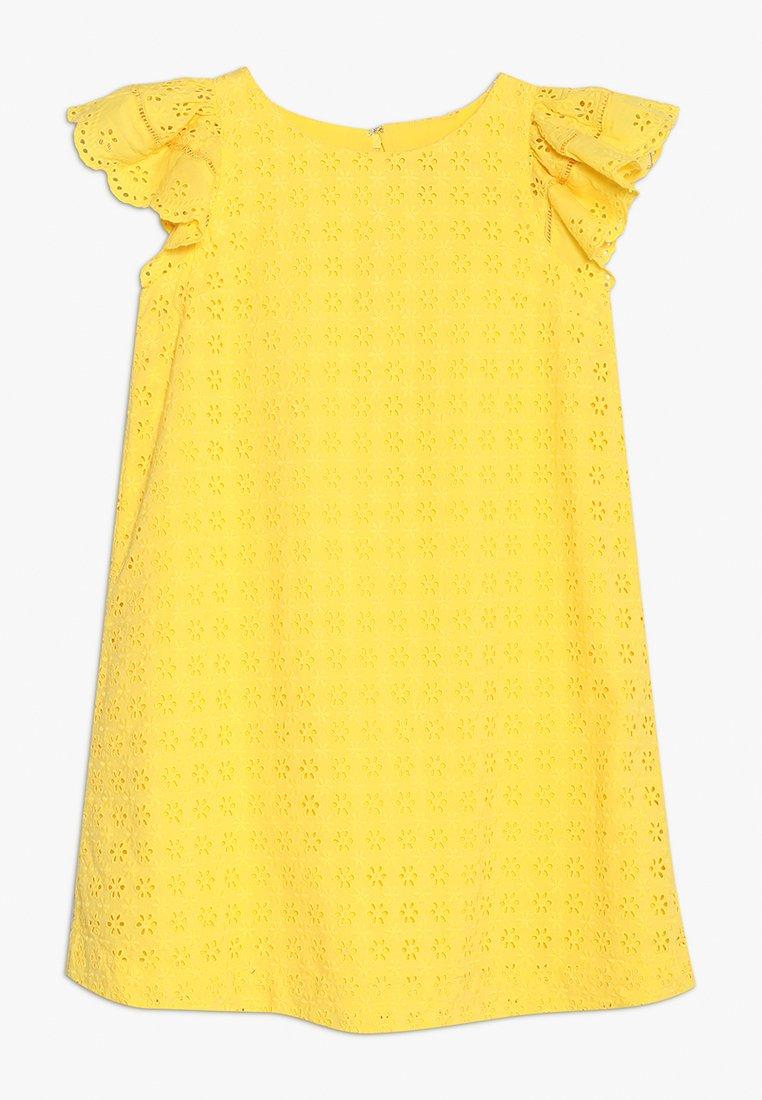 Polo Ralph Lauren - EYELET DRESS - Day dress - signal yellow