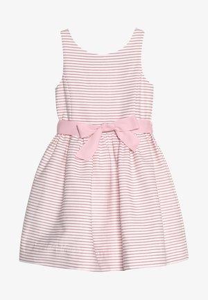 OTTOMAN STRIPE DRESS - Koktejlové šaty/ šaty na párty - pink/white