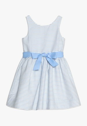 OTTOMAN STRIPE DRESS - Vestito elegante - blue/white
