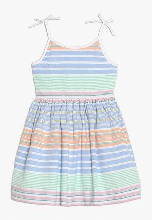 OXFORD RUN ON - Denní šaty - blue/white/multi