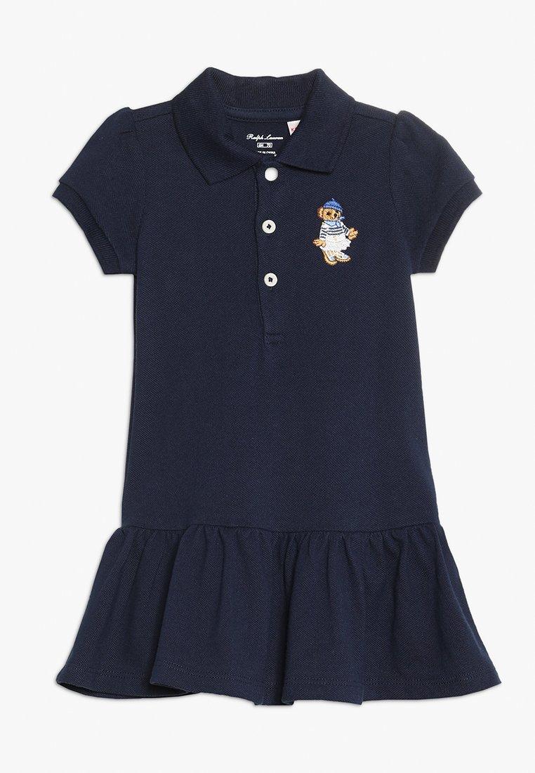 Polo Ralph Lauren - STRETCH BEAR DRESS - Vestito estivo - french navy