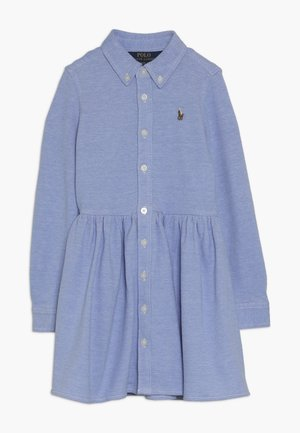 OXFORD DRESS - Shirt dress - harbor island blue/white