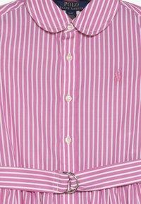 Polo Ralph Lauren - BENGAL DRESSES - Shirt dress - pink/white - 2
