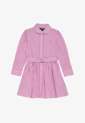 BENGAL DRESSES - Robe chemise - pink/white