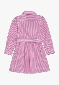 Polo Ralph Lauren - BENGAL DRESSES - Shirt dress - pink/white - 1