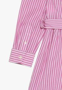 Polo Ralph Lauren - BENGAL DRESSES - Shirt dress - pink/white - 4