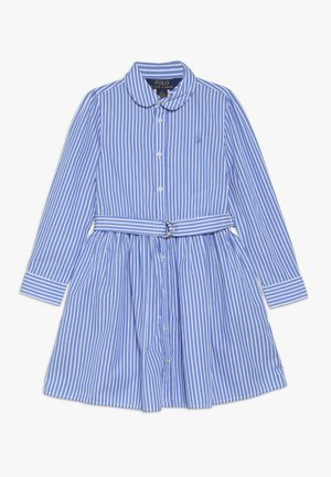BENGAL DRESSES - Shirt dress - blue/white