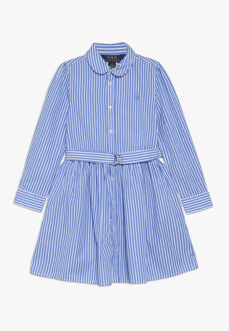Polo Ralph Lauren - BENGAL DRESSES - Shirt dress - blue/white