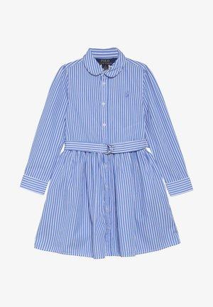 BENGAL DRESSES - Košilové šaty - blue/white