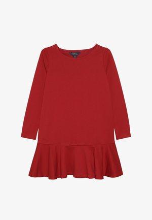 DRESS - Jersey dress - red