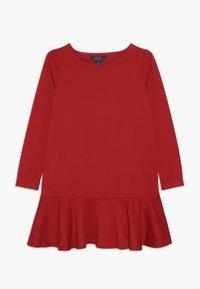 Polo Ralph Lauren - DRESS - Jerseykjole - red - 0