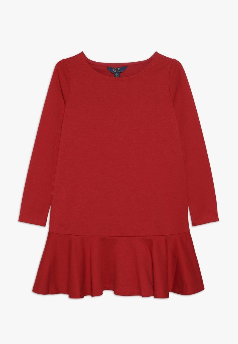 Polo Ralph Lauren - DRESS - Jerseykleid - red