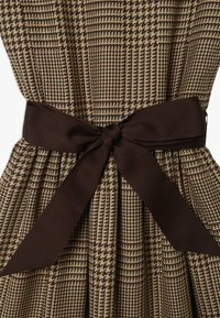 Polo Ralph Lauren - GLEN PLAID DRESSES - Freizeitkleid - brown/multi - 3