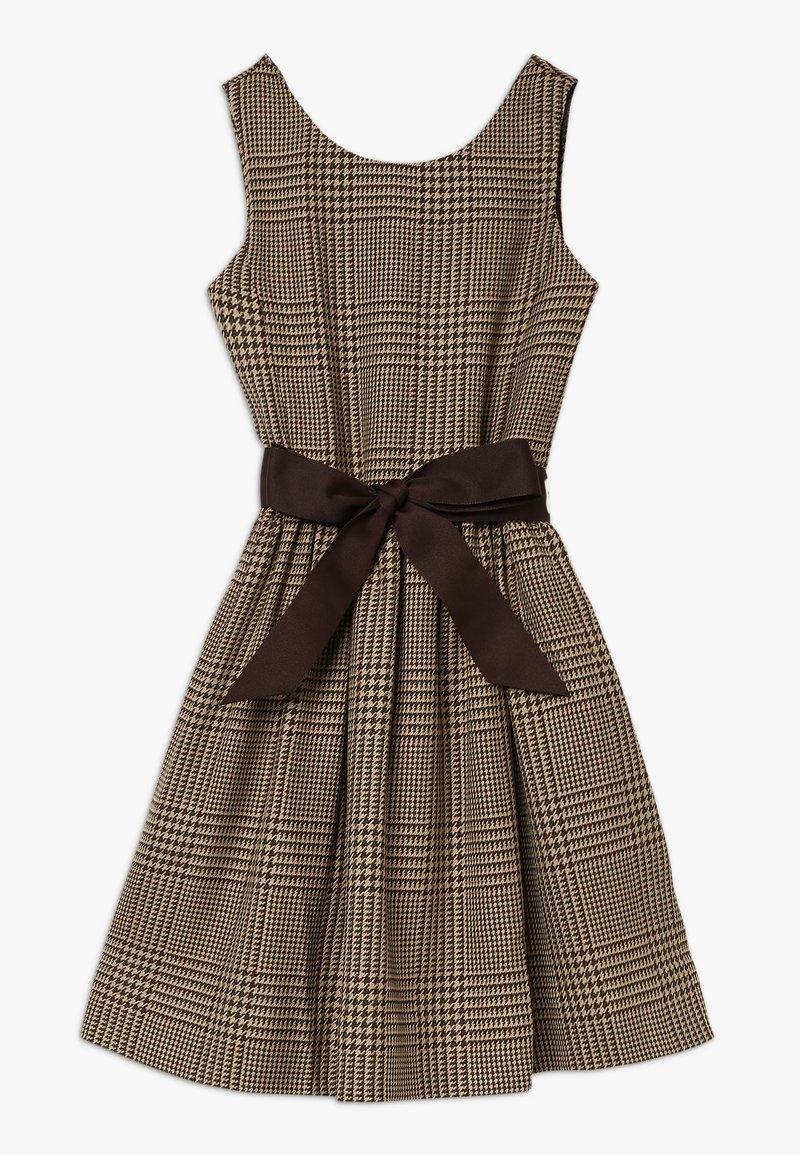 Polo Ralph Lauren - GLEN PLAID DRESSES - Day dress - brown/multi