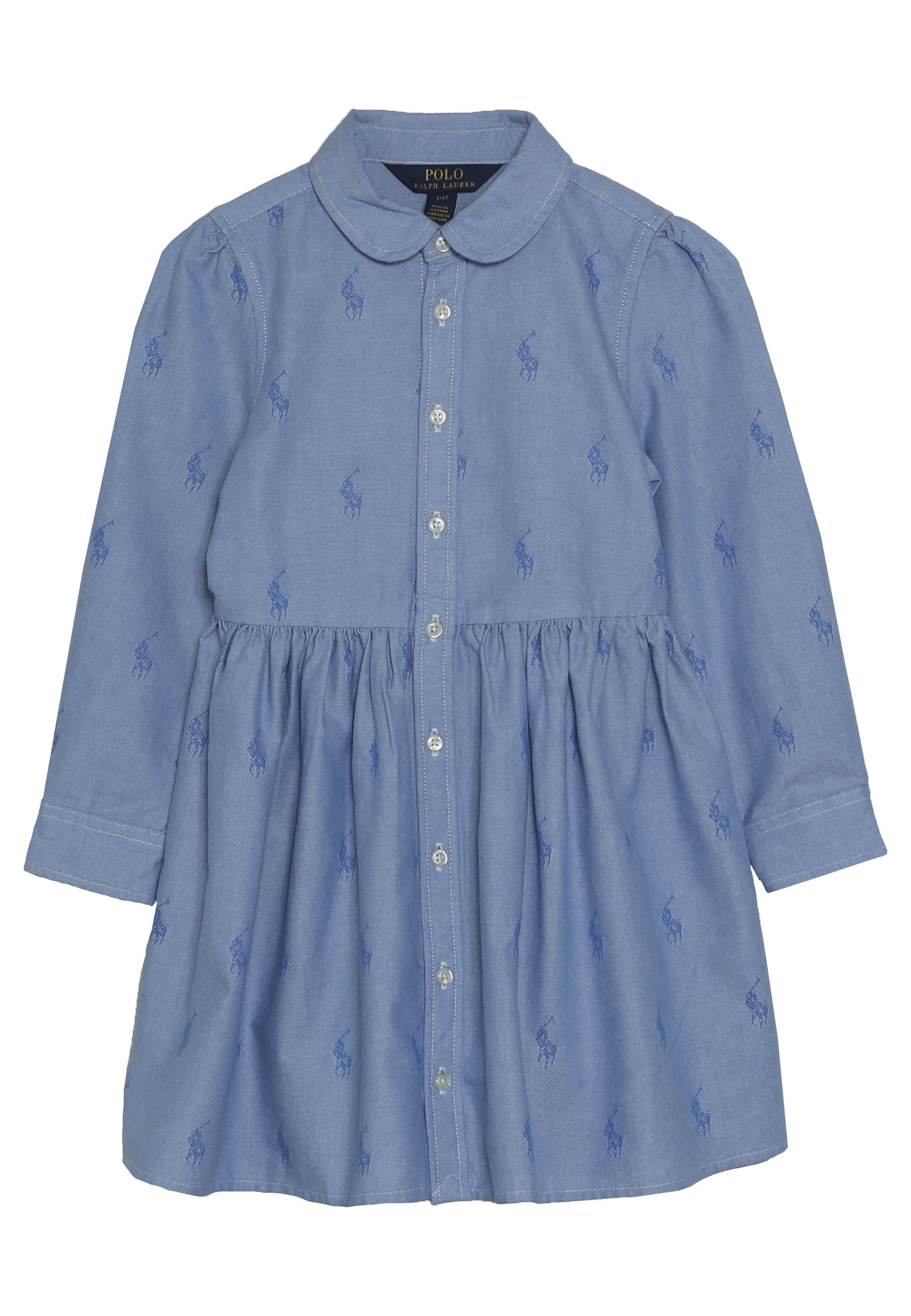 Polo Ralph Lauren DRESS Robe chemise oxford blue