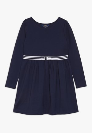 BOW DRESS - Jersey dress - french navy