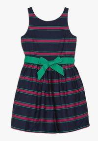 Polo Ralph Lauren - CRICKET DRESSES - Robe d'été - navy multi - 0