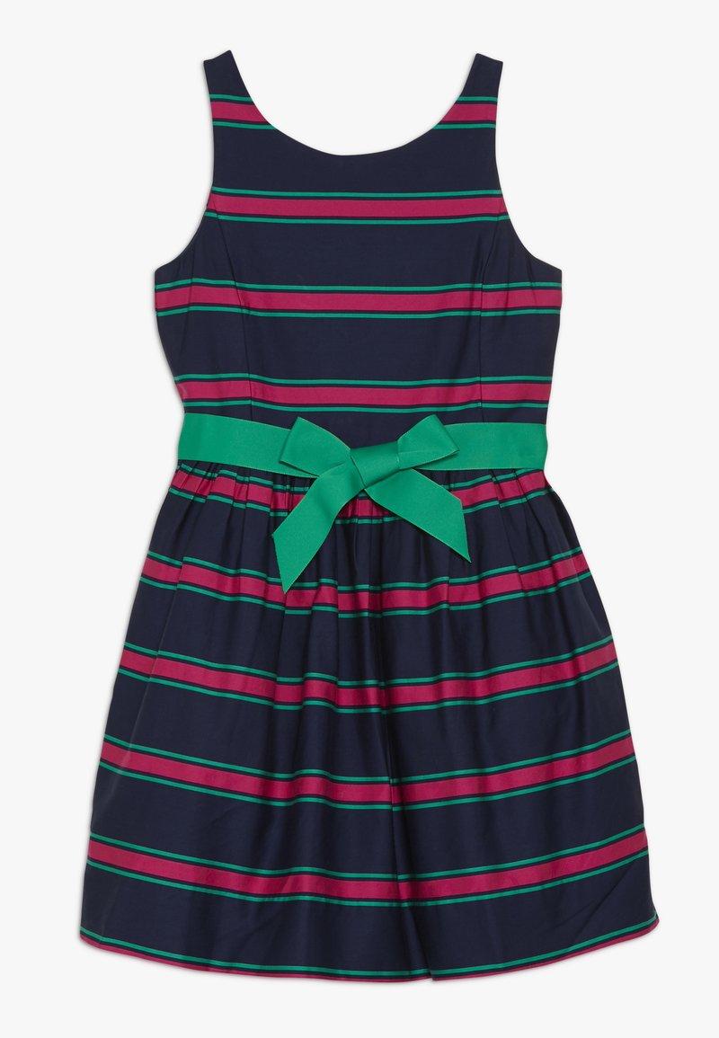 Polo Ralph Lauren - CRICKET DRESSES - Robe d'été - navy multi