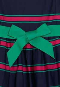 Polo Ralph Lauren - CRICKET DRESSES - Robe d'été - navy multi - 4