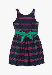 Polo Ralph Lauren - CRICKET DRESSES - Robe d'été - navy multi - 3