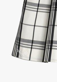 Polo Ralph Lauren - PLAID TAFFET DRESSES - Cocktail dress / Party dress - cream/black - 5