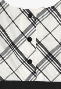 Polo Ralph Lauren - PLAID TAFFET DRESSES - Cocktail dress / Party dress - cream/black - 3