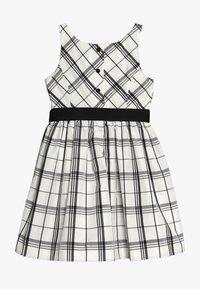Polo Ralph Lauren - PLAID TAFFET DRESSES - Cocktail dress / Party dress - cream/black - 1
