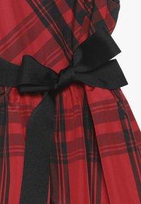 Polo Ralph Lauren - PLAID TAFFET DRESSES - Robe de soirée - red/black - 4