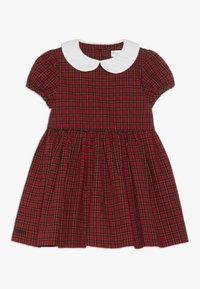 Polo Ralph Lauren - PLAID DRESS - Vestito elegante - red/black - 0