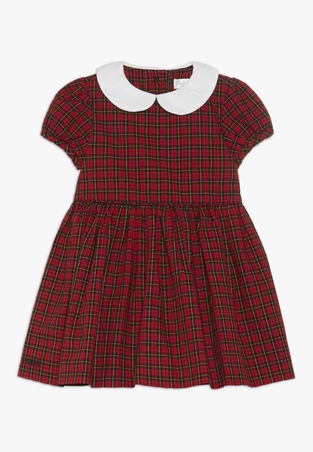 PLAID DRESS - Vestito elegante - red/black