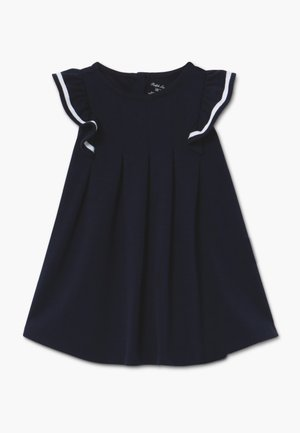 NAUTICAL DRESSES - Jerseykleid - hunter navy